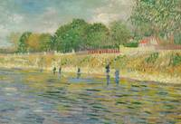 Bank of the Seine, 1887 (oil on canvas)