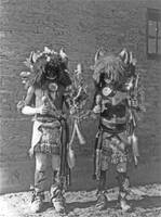 Tesuque Buffalo Dancers (Tewa)