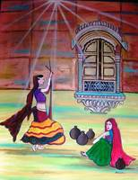 Rajasthani Ladies- Dandia