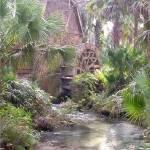"""Water wheel at Juniper"" by YvieArtist"