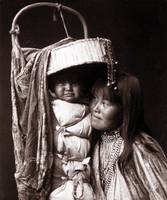 Apache Girl and Papoose