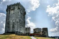 Montalegre Castle in Portugal