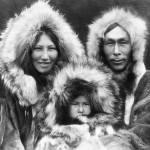 """Noatak Family (Eskimo), Alaska"" by ArtLoversOnline"