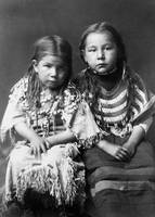 Bull Shoe's Children (Piegan), Montana, c. 1910