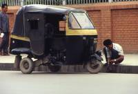 Three wheeled safe transport