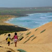 Praia do Norte, Sao Vicente, Cape Verde Art Prints & Posters by Julia Fine Art