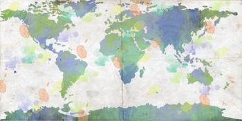 World Map Watercolor 4