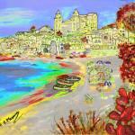 """Summertime in Cefalu"
