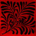 """Red Vintage Tile"" by bonniebruno"
