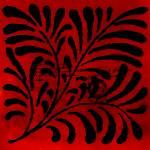 """Red Vintage Tile"" by bonniebruno"