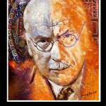 """Carl Jung Poster"" by jerrybacik"