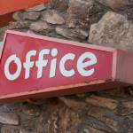 """Office Sign"" by midcenturymodern"