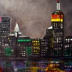 """New York Skyline"" by ArtPrints"