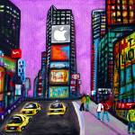 """Time Square"" by ArtPrints"