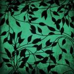 """Vines - Teal"" by bonniebruno"