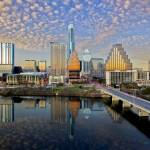 """Austin Skyline in the Late Afternoon 2"" by RobGreebonPhotography"