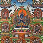 """Guhyasamaja Akshobhya in Yab-Yum"" by lanjee"