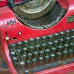 """Red Typewriter"" by midcenturymodern"