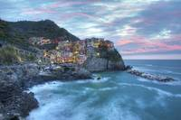Manarola Morning Light, the Cinque Terre, Italy