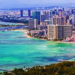 """Waikiki Beach Hawaii"" by namkn"