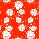"""Peony Float Pattern"" by MaryDolan"
