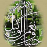 """hasbonallah wa nemal wakil"" by hamidsart"