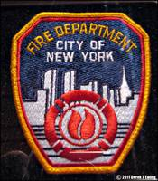FDNY patch