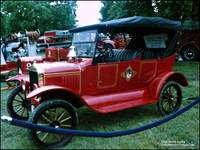 Antique FDNY Chief's Car