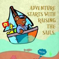Set Sail Art Prints & Posters by Christopher Nunn