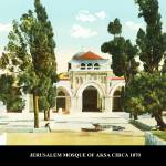 """JERUSALEM  MOSQUE OF AKSA ADOBE  img229"" by vintagephotos1900"