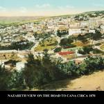 """NAZARETH GENERAL VIEW OF NAZARETH ON THE ROAD TO C"" by vintagephotos1900"