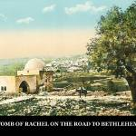 """TOMB OF RACHEL ON THE ROAD TO BETHLEHEM"" by vintagephotos1900"