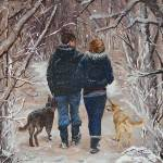 """""""A Walk in the Woods"""" by RuthDriedger"""