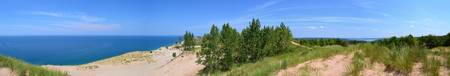 Sleeping Bear Dunes Panorama