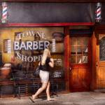 """""""Barber - Barbershop - Time for a haircut"""" by mikesavad"""