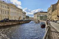A St Petersburg Canal