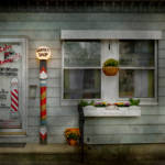 """Barber - Belvidere, NJ - A Family Salon"" by mikesavad"