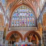 """Inside Exeter Cathedral Spiritual Devon England"" by SteveWalton"