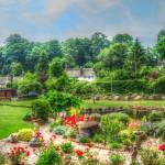 """""""garden landscape rural scenic fine art"""" by SteveWalton"""