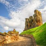 """Scarborough Castle Yorkshire England"" by SteveWalton"