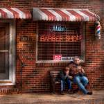 """Barber - Metuchen, NJ - Waiting for Mike"" by mikesavad"