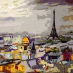 """Abstract Paris Memories"" by GinetteCallaway"