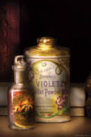 Barber - Sharp and Dohme's Violet Toilet Powder