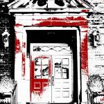 """Grand Entrance Black White And Red Series"" by bettynorthcutt"