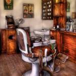 """Barber - The Barber Chair"" by mikesavad"