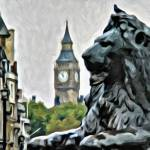 """Big Ben from Trafalgar Square"" by HAX"