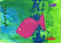 Original art Tropical Fish