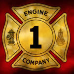 """Fireman - Engine Company 1"" by mikesavad"