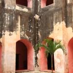 """In the Courtyard, San Bernadino de Siena Convent,"" by RoupenBaker"