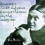 """H.L. Mencken on Democracy"" by HAX"